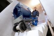 Diable escalier électrique - Capacité 350 kg en montée et descente
