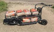 Chariot extra transporteur électrique  - Charge : 150 kg