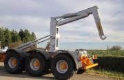 Remorque agricole châssis tubulaire - Châssis tubulaire à hauteur réduite