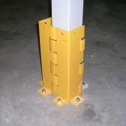 Protection poteau mezzanine