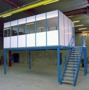 Plateforme de stockage auto porteuse - Structure en acier