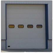 Porte sectionnelle industrielle isolante