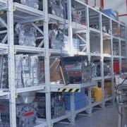 Étagères extensibles pour charges lourdes et volumineuses - Rayons extensibles de stockage en acier profilé