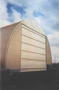 Portes souples industrielles - Coulissantes, réglables verticalement avec différentes options