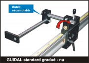 Butée numérique amenage Guidal gradué standard