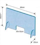 Ecran de protection anti contamination (lot de 10) - 4 formats disponibles