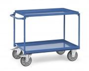 Chariot à plateaux en acier
