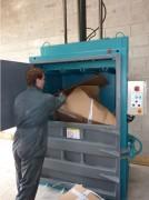 Compacteur à déchets recyclables 24 Tonnes - Pression de compactage 24 Tonnes