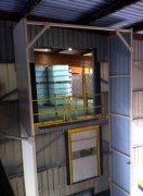 Tour de protection de manutention - Hauteur d'environ 3 étages