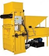 Compacteur déchet pour vide ordure - Poids des compressions : 160 kg environ