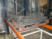 Platelage sécurité rayonnage avec découpe butée - Dimensions (L x l) : 880 x 1123 mm