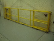 Garde-corps d'atelier - Garde-corps d'atelier securisant au sol