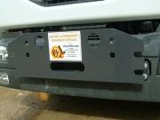 Demi plaque avant - Pour les véhicules de moins de 10 Tonnes