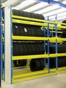Rayonnage fixe métallique garagiste - Rayonnage métallique Profilcase