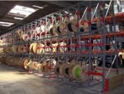 Stockage de tourets et de câble   - Stockage de tourets diamètre 600 mm à 1400 mm