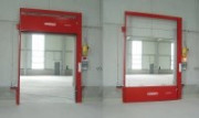 Barrière de confinement automatique et descendante - Hauteurs : 100 mm à 600 mm - Activation à distance ou sur système d'alarme