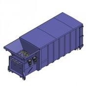 Compacteur à vis monobloc - Petits cartons, papiers, bois, déchets résiduels