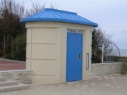 Toilette public simple en inox - Modèles Extérieurs PMR L800