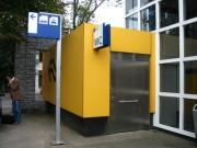 Toilettes exterieur Personnalisés pour Gare - Toilettes Gare NS (Pays Bas)
