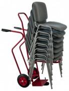 Diable pour manutention chaises empilables