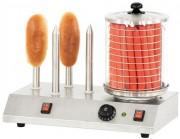 Appareil électrique de cuisson hot-dog - Dimensions : L 500 x P 285 x H 390 mm