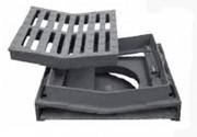Bouche inodore D 400 - Dimension du cadre : 510 x 460 mm