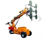 Chariot à palonnier à ventouse radiocommandé sans fil - Capacité de charge : 1000 Kg - Hauteur levage : 4400 mm