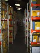 Rayonnage industriel à longerons - Rayonnage métallique Profilcase
