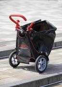 Chariot de voirie avec poignée réglable en hauteur - Dimensions : 71 x 57 x 35 cm