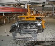 Monorail automoteurs pour conteneurs