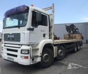 Location camion plateau à grue MAN occasion - Puissance : 390 CV, PTC : 35 tonnes