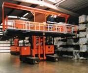 Chariot préparation de commandes plastique