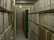 Rayonnage tôlé fixe pour archive