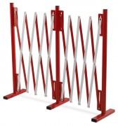 Barrière de sécurité extensible 4m - Extensible jusqu'à 4 mètres