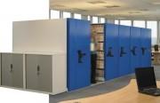 Rayonnage mobile compact - Gestion éfficace des documents