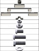 Accessoires de signalisation routière   - Kit de fixation pour signalisation routière