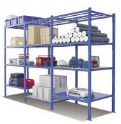 Rayonnage pour entrepôt - Permet le stockage de charges lourdes sur longue durée