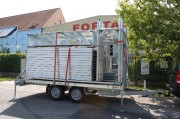 Remorque manutention pour échafaudage - Stockage - Transport