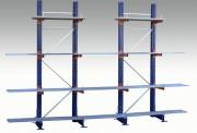 Cantilever de stockage - Dimensions colonnes (mm) : 2000 - 2500 - 3000