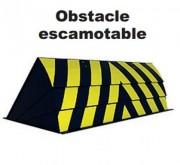 Obstacle escamotable automatique - Hauteur : 600 mm