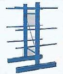 Rayonnage cantilever pour charges légeres et mi-lourdes - Spécialement adapté au stockage de charges longues, légères et mi-lourdes