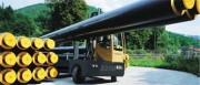 Chariot latéral diesel conduite à deux voies
