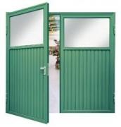 Porte double en acier - SLE en acier