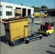 Véhicules électrique pour containers