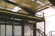 Plateforme mezzanine stockage industrielle - Réalisable sur mesure
