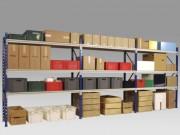 Rack stockage semi-lourd - Profondeur de 600 mm à 900 mm