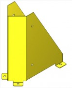 Sabot de protection pour rayonnage à palettes - Sabot de protection de montants d'échelles