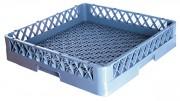 Casier à vaisselle sans compartiment - Dimensions extérieures (L x l x h) : 500 x 500 x 102 mm