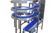 Convoyeur alimentaire spirale - Vitesse de la bande jusqu'à :35 m / min