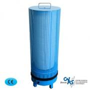 Purificateur d'air électronique mobile pour cabinet médical - Purificateur d'air mobile pour salle d'attente de médecin ou cabinet médical - Capacité : 250 m3/heure